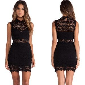 Nightcap Dresses - Nightcap black lace dress